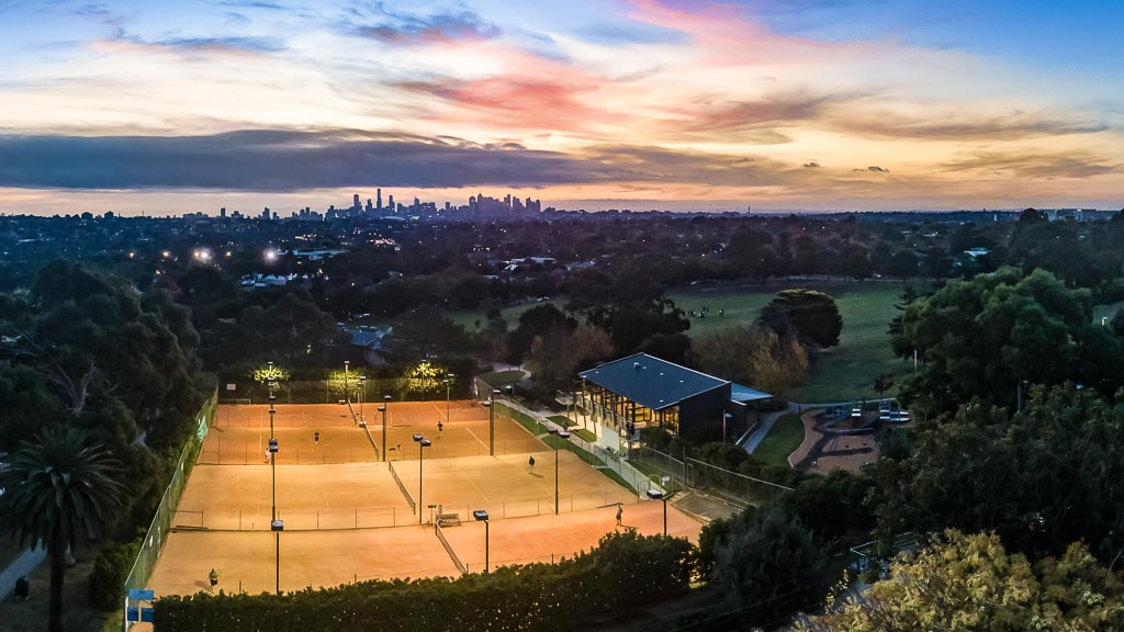 Check out this drone shot of the club for our new website header image!